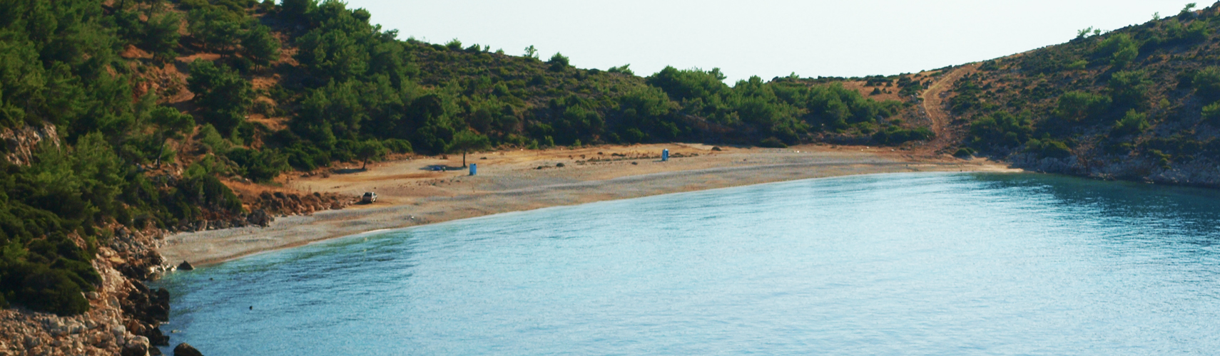TRAHILI BEACH | Chios Greece - Travel Gude of Chios island